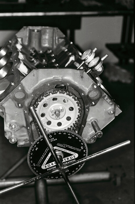Bill Thomas 427 Camaro Engine 5