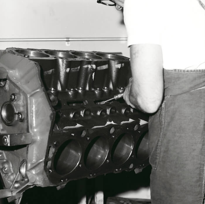 Bill Thomas 427 Camaro Engine 67